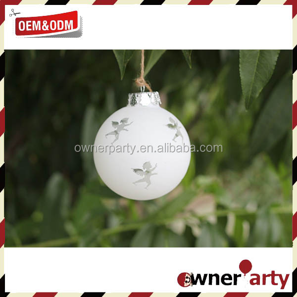 Custome Size Factory Large Outdoor Christmas Balls