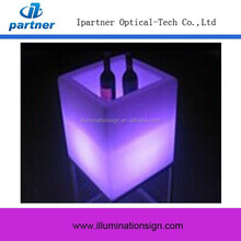 New Design Square Ice Bucket Luminous, Small Ice Bucket