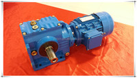 High quality S series helical worm variable speed electric geared motor