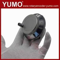 ISM8060 80mm 100 ppr pulse 5V DC Manual Pulse Generator CNC Handwheel MPG Manual Encoder rotary encoder optical shaft encoder