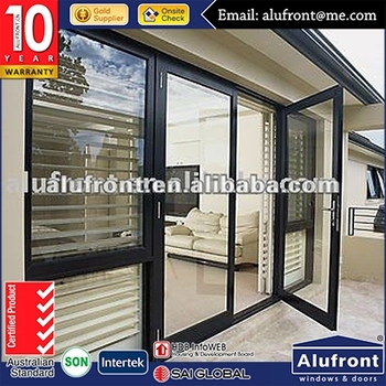 Top quality thermal heat and energy saving Australia standard waterproof door/aluminium exterior french doors and windows