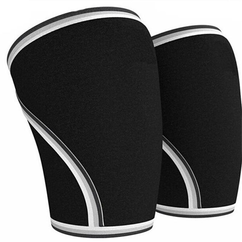 7mm Neoprene Best Squats Sleeve Compression for Weightlifting Powerlifting Cross Fit and Tennis Sleeve knee support