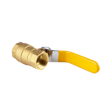 Good quality forged threaded 1 inch water tank floating brass ball manual valve