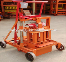 manual movable jmq-6a manual egg-laying movable small brick block making machine mobile hollow block machinery paver production