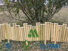 LW-BB01 Natural Bamboo Border, Bamboo Edging, Bamboo Palisade