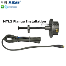 MIRAN MTL-80mm with DHL cost Narrow Space Flange Magnetic Water Tank Level Sensor