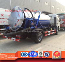 6m3 sewer dredging and cleaning vehicle, dongfeng 6000L sewer suction truck