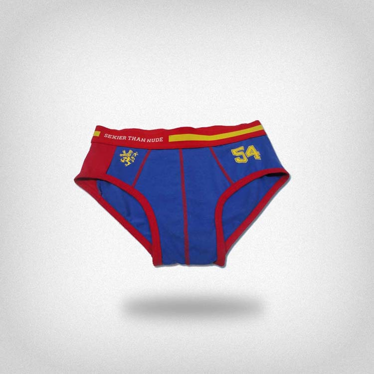 Customized waistband logo Fashion print hot men underwear