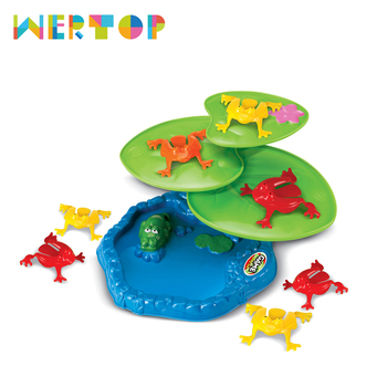 Wertop 2017 popular items children play games interesting jumping frog kids toys for sale