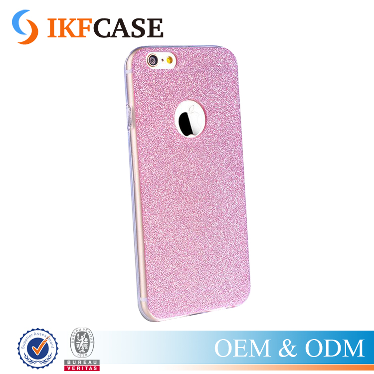 Diamond Flash Glitter TPU Cute Candy Cover Phone Case for Iphone 5G 6G Soft Silicone Case For iPhone 6 Plus