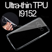 For Samsung Galaxy Grand Mage I9152 Ultra-thin TPU Case Cell Phone Case Transparent Case