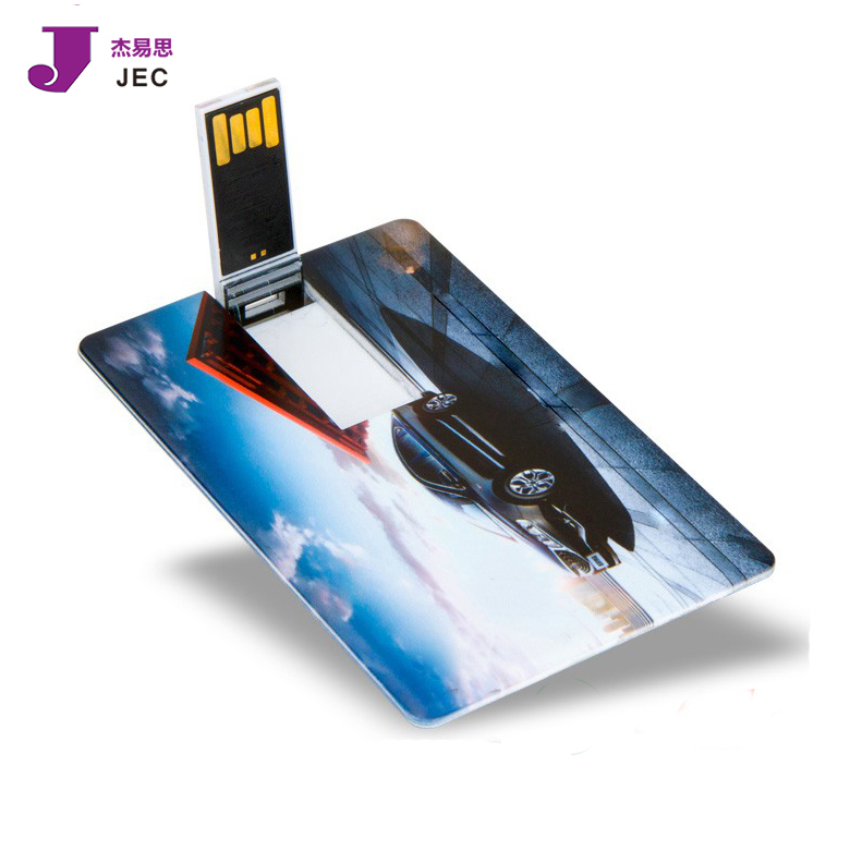 Customized card usb flash drive wholesale with webkey function for promotion gift JEC-032