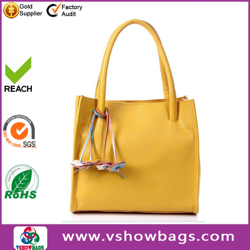 fashion ladies mini elegance plastic bag factory leather handbag