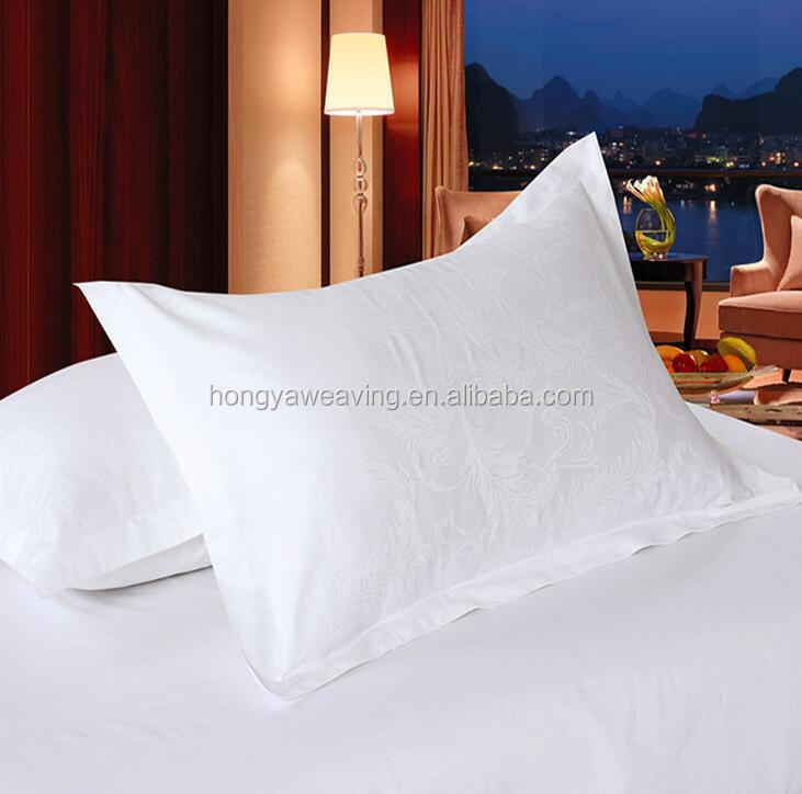 60S*40S 300T 100% cotton cheap hotel pillow case pillow cover for hotel and home used