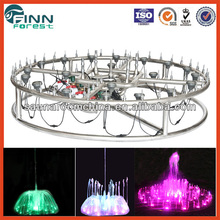Stainless colorful outdoor multimedia and musical fountain dancing