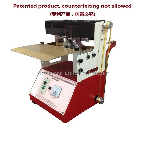 latest design leather strip and belt edge painting machine