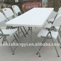 6ft Recycled Plastic Folding Tables Outdoor