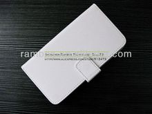 Folio Flip Real Leather Covers Genuine Leather Case for HTC One M7