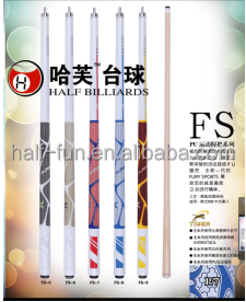Half billiards FURY FS Top Quality Custom Wholesale Pool Cue/Billiard Cue