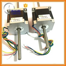 NEMA23 56mm Non-captive linear stepper motors with lead screw