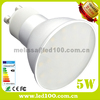 High quality spot lighting smd 3528 5w instead of 50w halogen gu10 spot light led