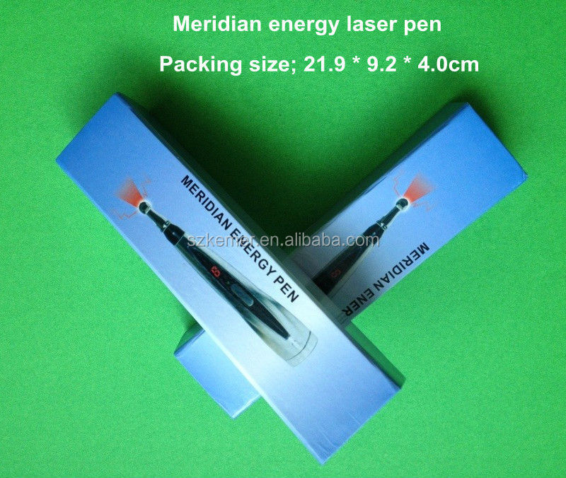 Multi-function cold laser therapy Needleless Electronic Acupuncture Pen