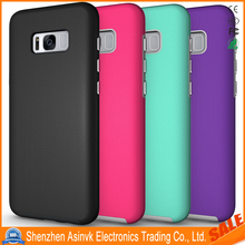 Shock Absorbent Armor Dual Layer Hybrid Defender Protective case For Samsung Galaxy S8+/Plus