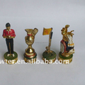 Glof metal chess set LFC0051