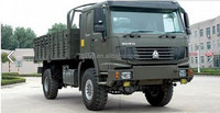 China HOWO 4x4 All-wheel Military Truck Cargo Truck
