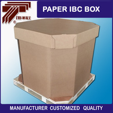 Heavy duty corrugated paper IBC box Liquid Cardboard Box