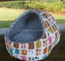 Teddy pet nest dog kennel small stuffed dog house/bed/bedding/bed cover cat litter