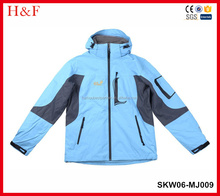 2017 wholesale winter waterproof &windproof women's skiwear