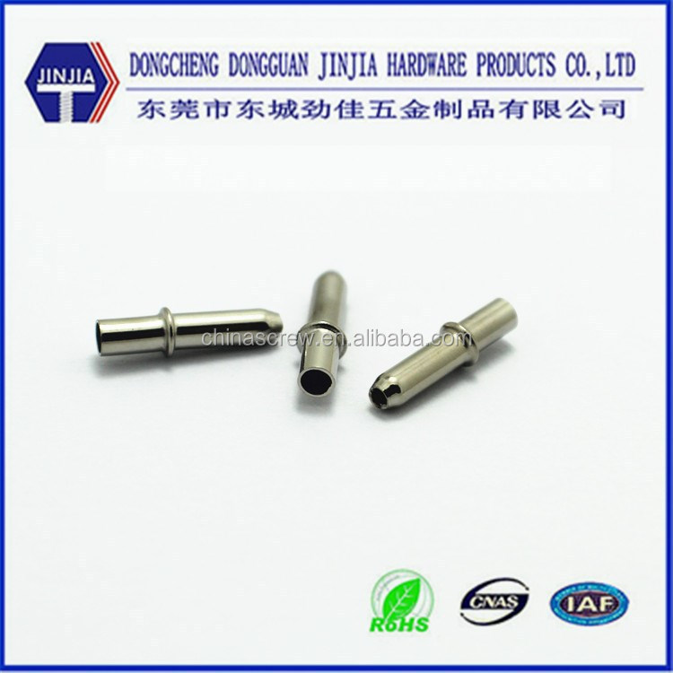 Direct supplier manufacturer RoHS Nickel plated connector metal pin