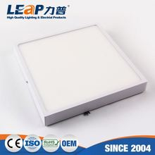 18W dimmable square surface mounted led panel lights ceiling down light
