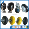 High quality various rubber pneumatic PU foam swivel wheel caster