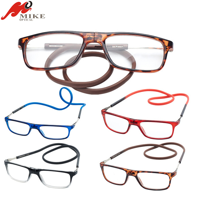 2017 New Magnet Reading Glasses In PVC Packing, magnetic reading glasses