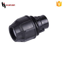JH0620 hdpe to steel pipe coupling black pipe socket fitting