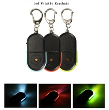 NEW Whistle Sound Searching Key Finder LED keychain