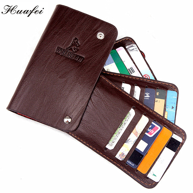 New Vintage Retro Style Genuine Leather Credit Card Case 3 Colours Card & ID Holders Business Card Holders 180-1