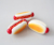 factory wholesale super soft slow rising squishy food toy in hot dog shape scents available