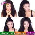2017 Mink Brazilian Human Hair Virgin Short Curly Hair Style