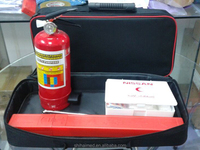 SH20143 Car First Aid Kit Car Emergency Kit with Certificate SASO 2016 hot selling
