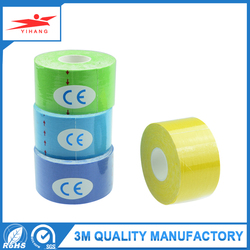 Dongguan OEM Factory your own logo printed cotton kinesiology tape
