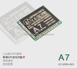 A7 GPRS GSM Module \SMS\Speech\GPS Positioning Function\ wireless data transmission