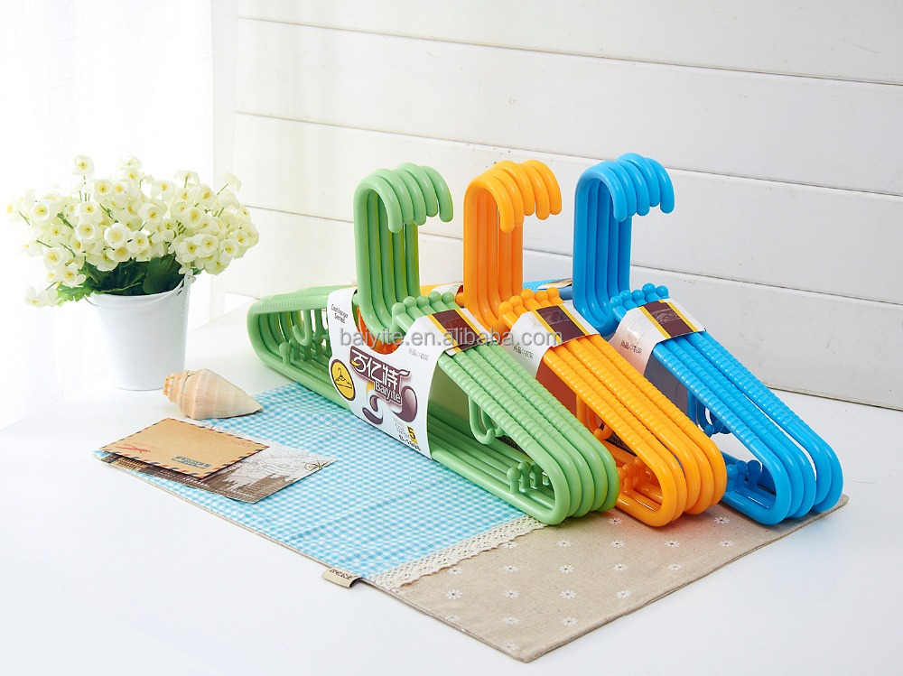 plastic hanger decorative coat hanger with best quality