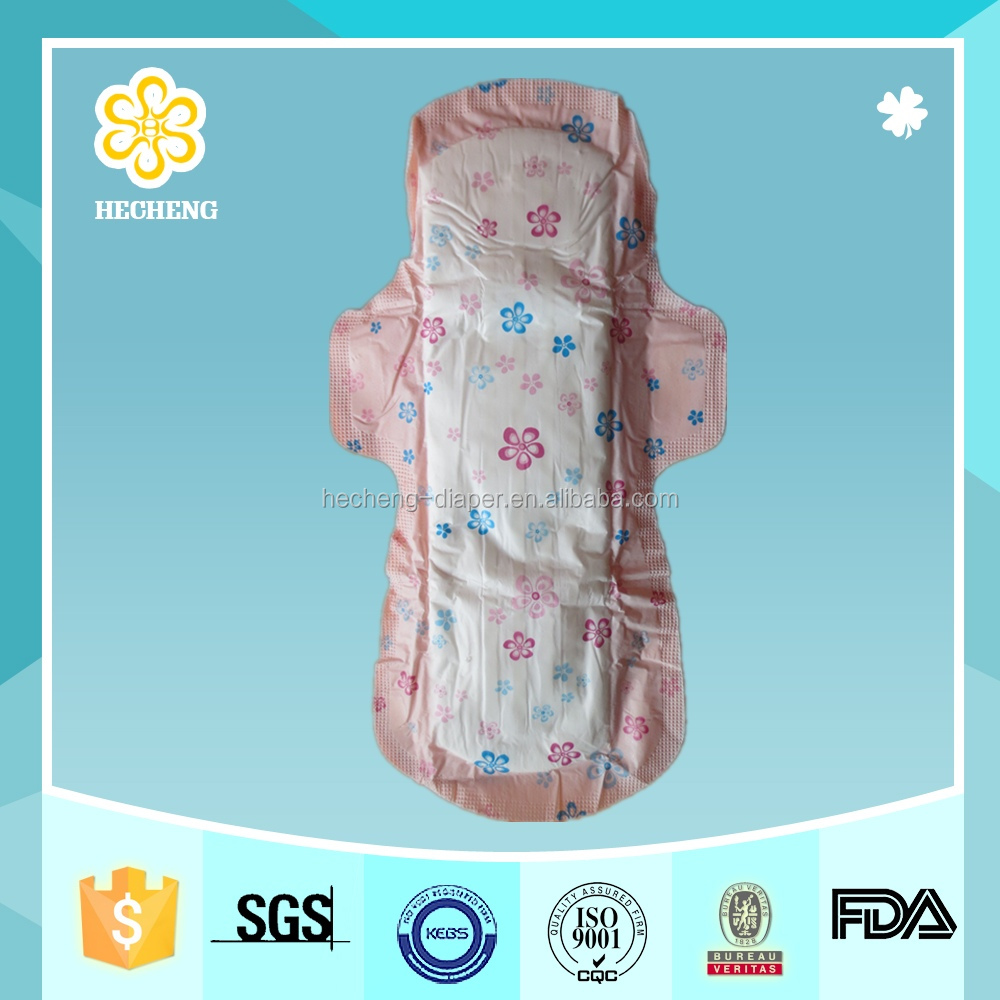 color Ultra thick Cotton sanitary pad