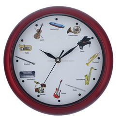 Musical Instruments Wall Clock Promotional Clock