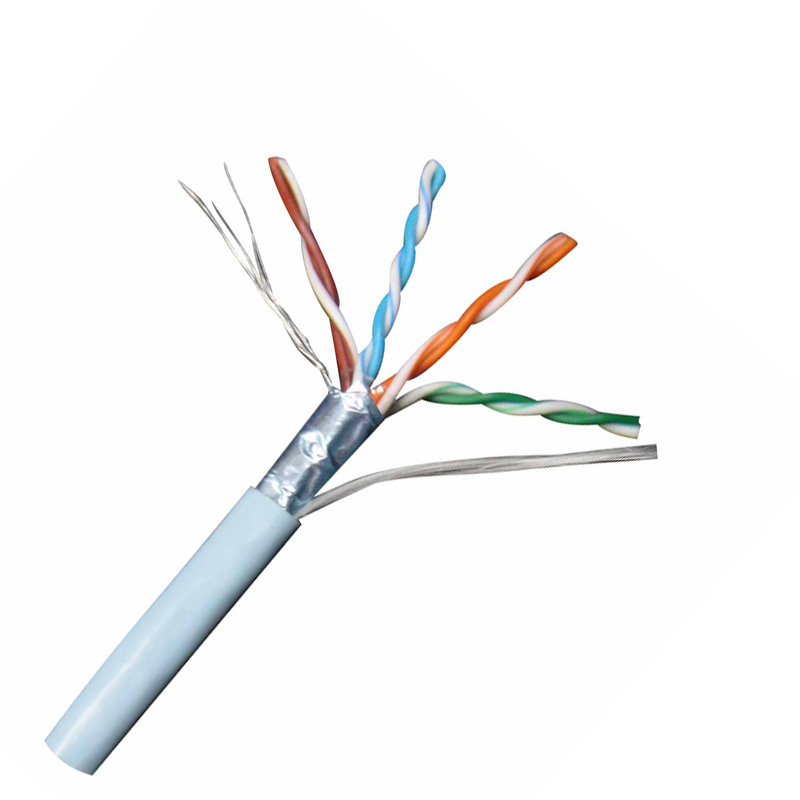 24awg ftp cat5e ethernet cable coiled