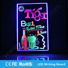 restaurant special offer notice led hanging menu boards for attract more attention