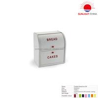 metal bread box/ double bread bin / food storage box